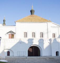 Никольские ворота Астраханского кремля