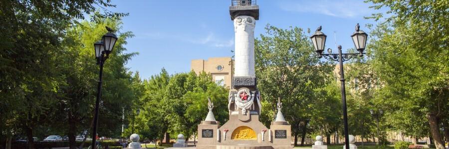 Памятник морякам, погибшим в 1919 г. и 1921 г.