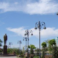 Памятник Гейдару Алиеву