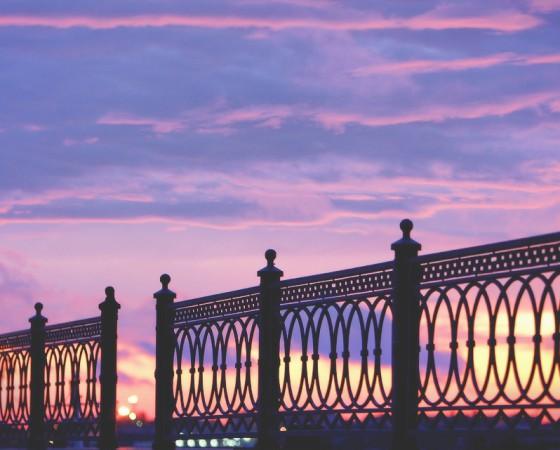 Прогулки по вечерней Астрахани