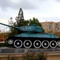 Мемориальный танк Т-34-85