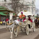 Масленичное шествие в Астрахани