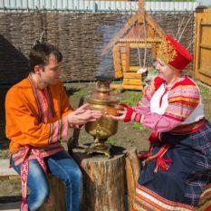 «Праздник народных ремёсел» в с. Евпраксино  на Ремесленном подворье
