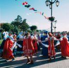 Народные гуляния в честь праздника Троицы 26 мая