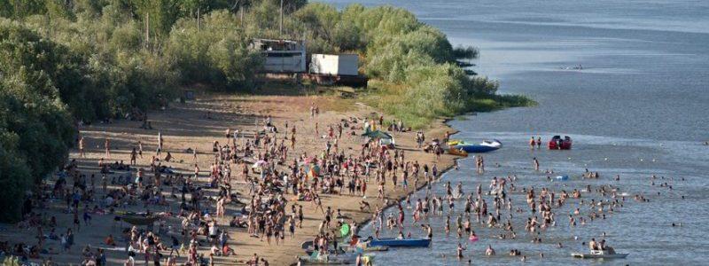Обновленная Астрахань: Благоустройство пляжей