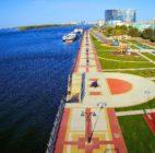 Аллея содружества «Зиген» появилась на Петровской набережной в Астрахани