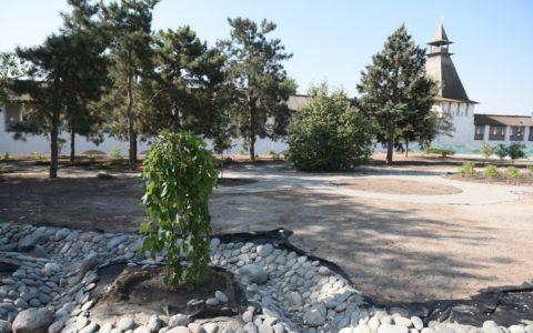 В Астраханском кремле появится «Петровский сад»