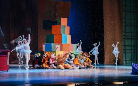 Премьера балета для всей семьи «Приключения Винни-Пуха»