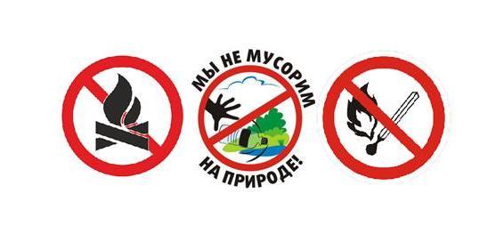 Схема оповещения о возникновении ландшафтных пожаров в дельтовой части Астраханской области